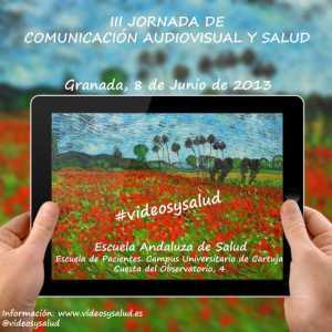 cartel vídeos y salud