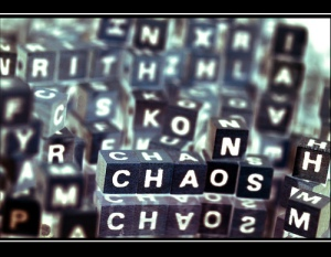 Image: 'NO CHAOS'  Found on flickrcc.net
