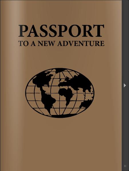 My passport CV