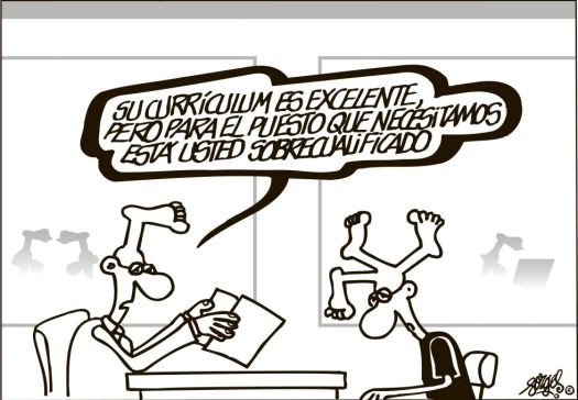 forges sobrecualificado
