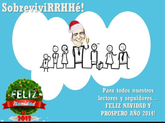 Feliz Navidad 2013 sobreviviRRHHé!