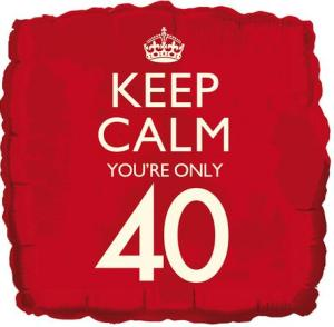 you are only 40