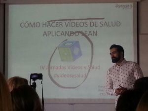 Cómo hacer vídeos de salud aplicando Lean.