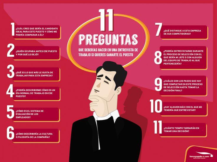 11 Preguntas Que Deberías Hacer En Una Entrevista Para Ganarte El Puesto El Blog De Iñaki González