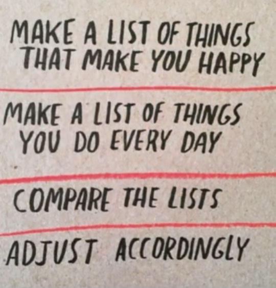 La vida es así de fácil