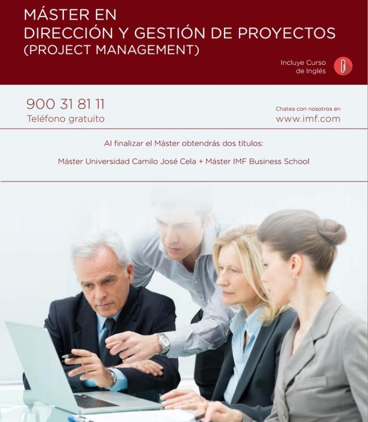 Master en Dirección y Gestión de Proyectos