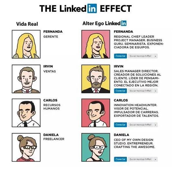 El efecto LinkedIn