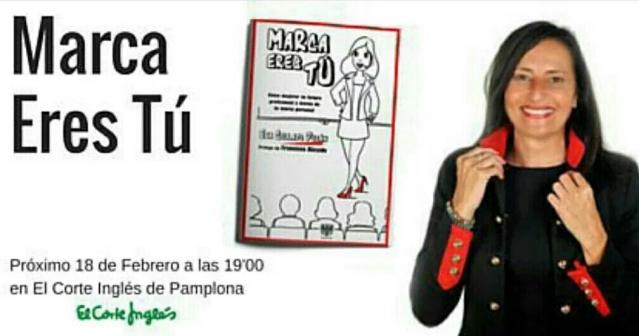 Eva Collado Durán y Marca eres Tú en Pamplona