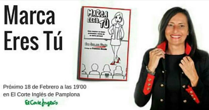 Hoy, @EvaColladoDuran y #MarcaEresTú enPamplona