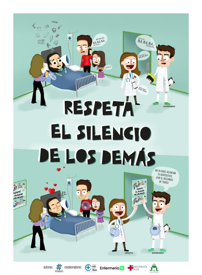 Respeta el silencio de los demás #sanidadSINruido