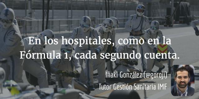 Hospitales y Fórmula 1