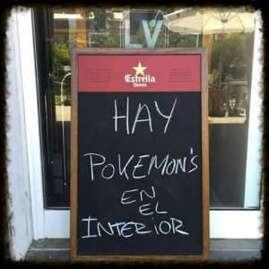 Pokemons en el interior