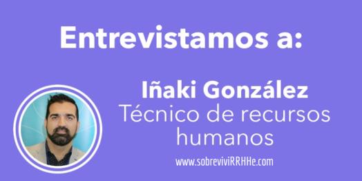 Entrevistas a Iñaki González