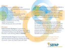 Taller SEFAP 2