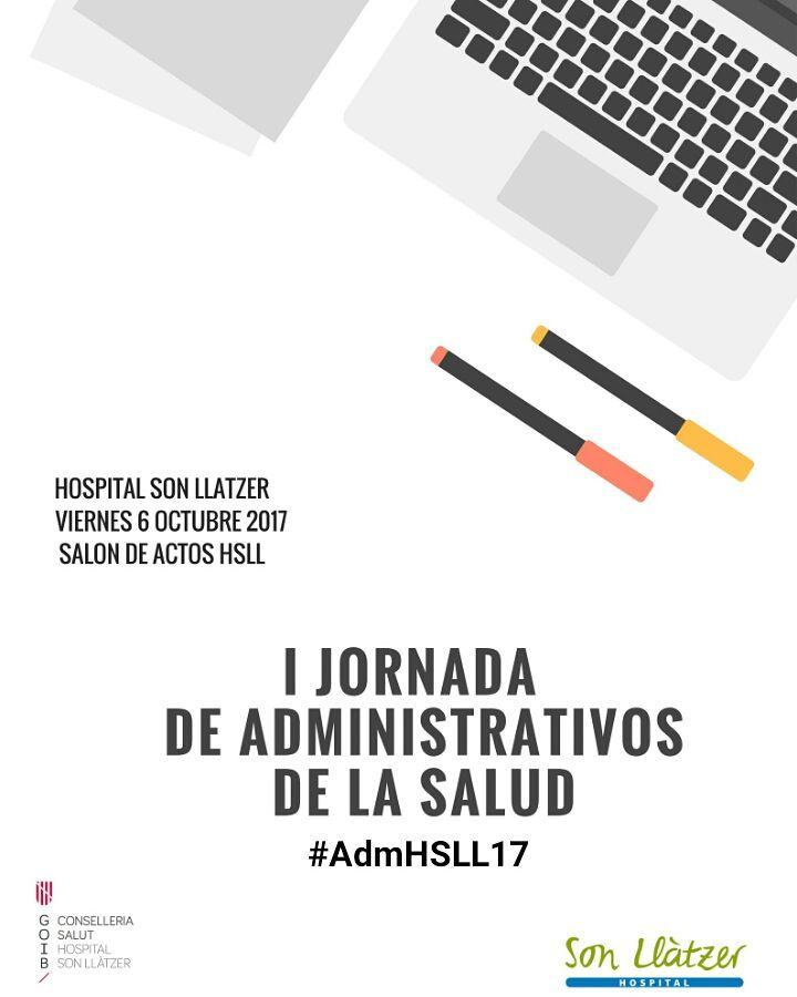 Cartel con hashtag AdmHSLL17