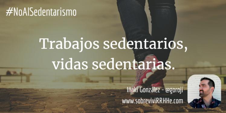 No al sedentarismo