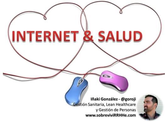 Portada Internet y Salud