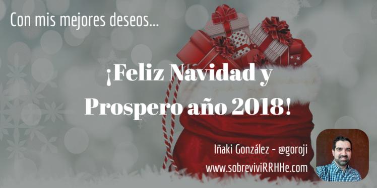 Feliz Navidad 2017 SobreviviRRHHe