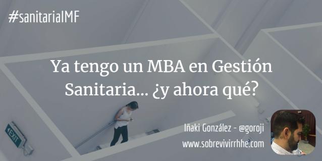 salidas MBA gestión sanitaria