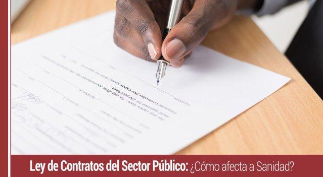 ley-contratos-sector-publico-afecta-sanidad